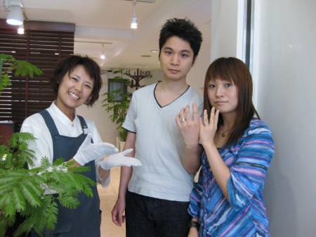 木目金の結婚指輪 銀座001.JPGのサムネール画像