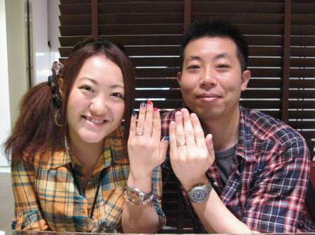 木目金の結婚指輪_銀座店11072601.JPG