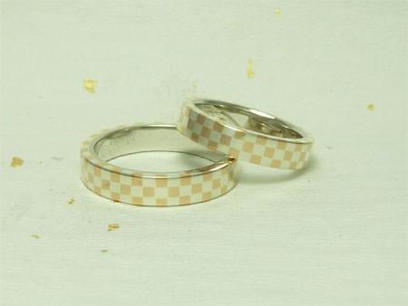 木目金の結婚指輪11071601①.jpgのサムネール画像