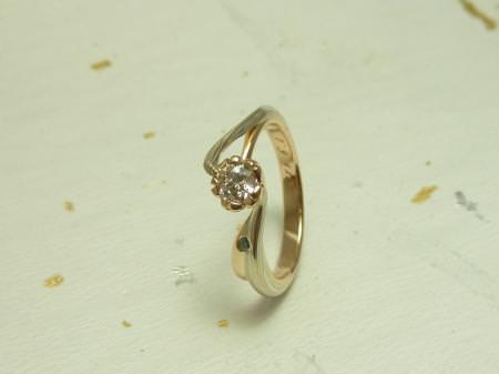 110626_木目金の婚約指輪_銀座店002.JPG