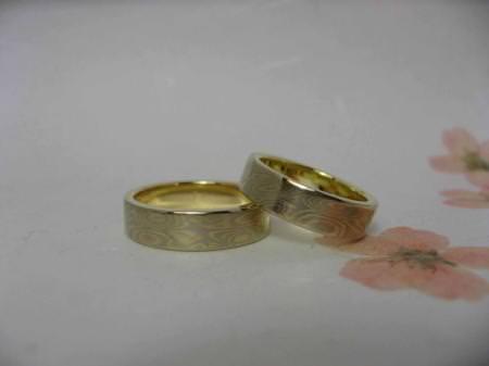 11070303木目金の結婚指輪 表参道本店002.jpg
