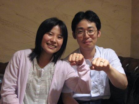 11070709-1木目金の結婚指輪 表参道本店001.JPG