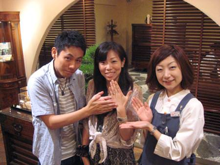11070724-1木目金の結婚指輪 表参道本店001.JPG