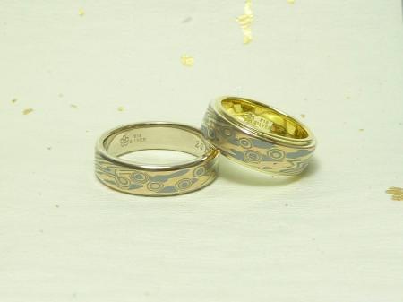 110709木目金の結婚指輪 表参道本店002 05.jpg