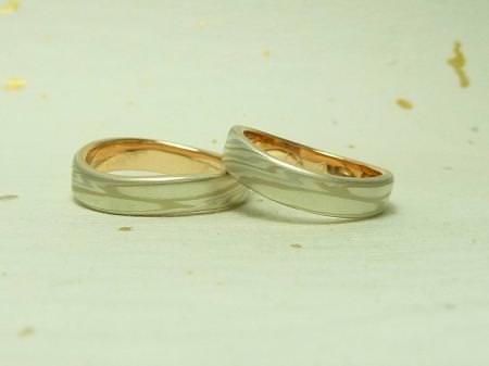 110709木目金の結婚指輪 表参道本店002 06.jpg