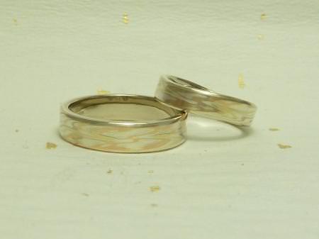 11071703木目金の結婚指輪 表参道本店002.jpg