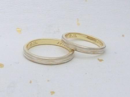 11071801木目金の結婚指輪 表参道本店002.jpg