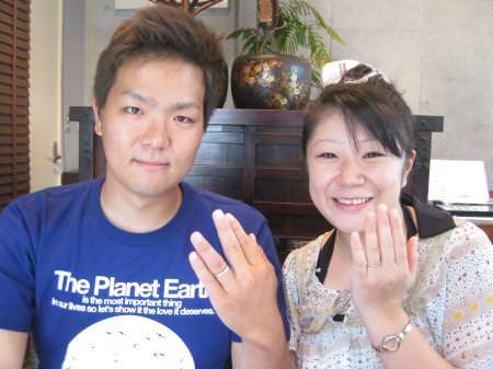 110730木目金の結婚指輪横浜元町店001.JPG