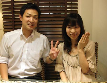 木目金の婚約指輪_銀座店_20110731_001.JPG