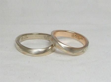 木目金の結婚指輪110730_002.JPG