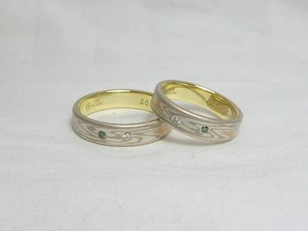 110731木目金の結婚指輪3②.jpg