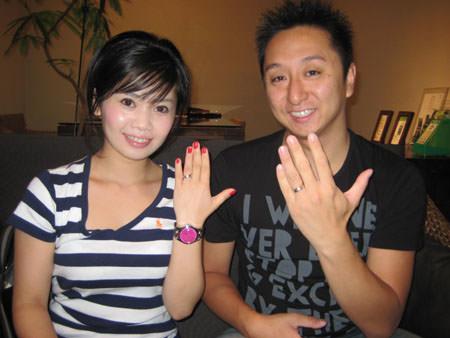 110812木目金の結婚指輪①.jpg