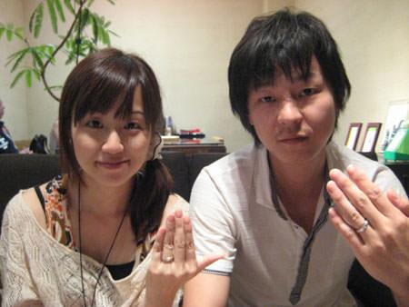 110813木目金の結婚指輪①.jpg