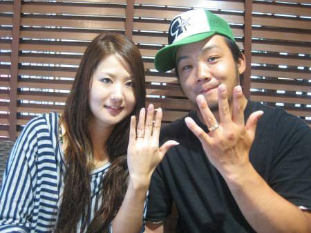 110821木目金の結婚指輪横浜元町店001.JPG