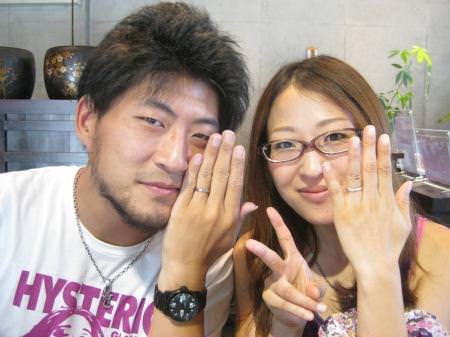 110830木目金の結婚指輪横浜元町店001.JPG