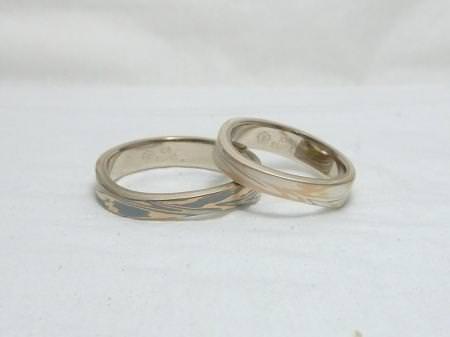 110830木目金の結婚指輪横浜元町店002.JPG