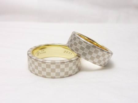 110809木目金の結婚指輪_大阪本店001のサムネール画像