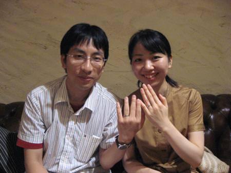 110811 木目金の結婚指輪 表参道本店 001.JPG