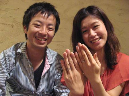 11091103木目金の結婚指輪_表参道本店001.JPG