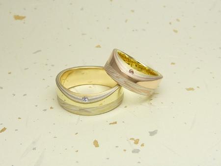 110915グリ彫り・木目金の結婚指輪_神戸店002.jpg