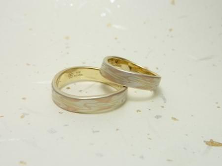 110917木目金の結婚指輪横浜元町店001.JPG