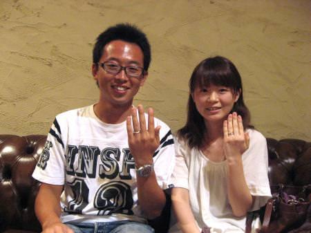 11091703木目金の婚約指輪_表参道本店001.JPG