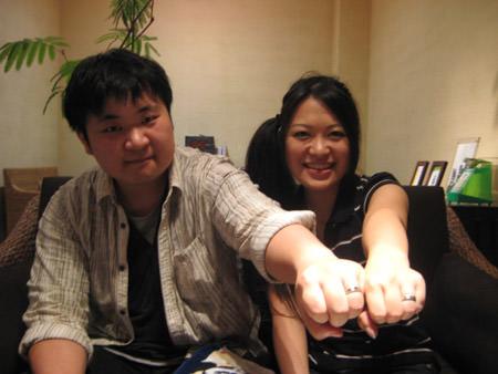 110919木目金の結婚指輪_大阪店001.jpgのサムネール画像のサムネール画像