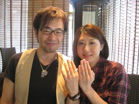 110924木目金の結婚指輪横浜元町店001.JPG