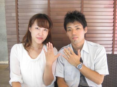 11092801木目金の結婚指輪_横浜元町店001.JPG
