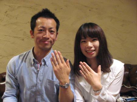 11092801木目金の結婚指輪_表参道本店001.JPG