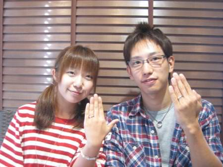 110930木目金の結婚指輪 横浜元町店001.JPG