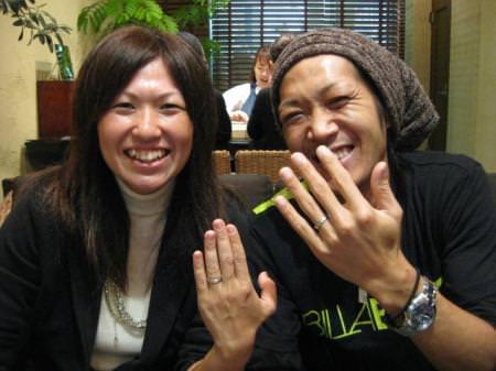 木目金の結婚指輪_名古屋店①2.jpg