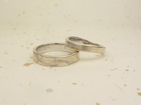 11112601木目金の結婚指輪01.JPG