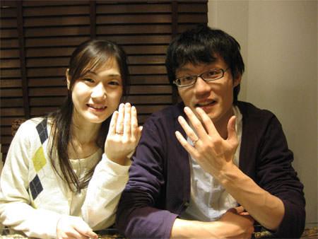 木目金の結婚指輪_銀座店1.jpg