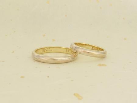 111023木目金の結婚指輪 銀座002.JPG