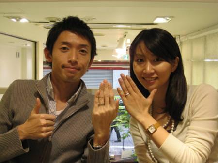 111127木目金の結婚指輪 銀座店001.JPGのサムネール画像