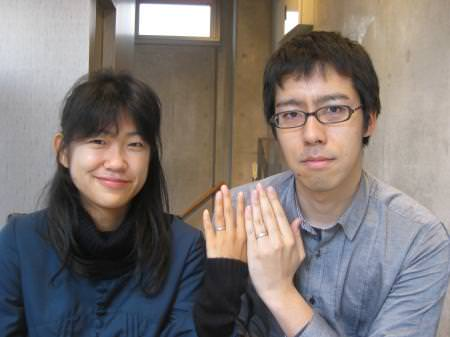 11122303木目金の結婚指輪 横浜元町店001.JPG