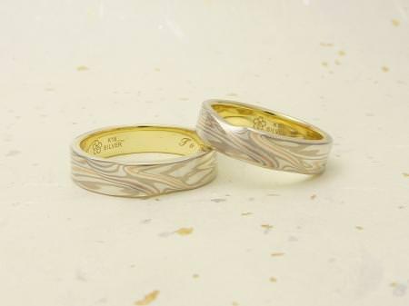 111225木目金の結婚指輪 表参道本店003.JPG