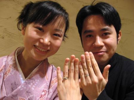 111225木目金の結婚指輪 表参道本店001.JPG