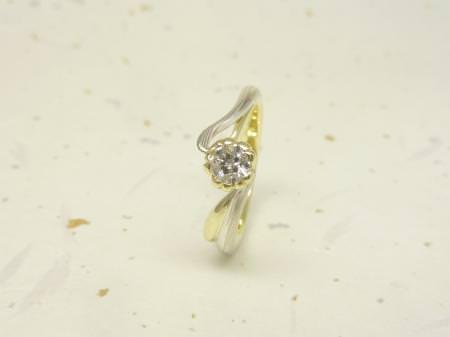 111225木目金の結婚指輪 表参道本店002.JPG