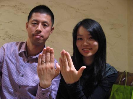 111218木目金の結婚指輪_表参道001.JPG