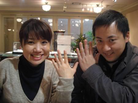 111225木目金の結婚指輪_表参道0011.JPG