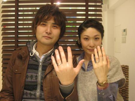 120109木目金の結婚指輪 銀座店001.JPG