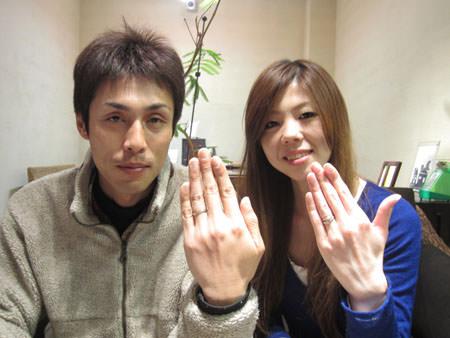 12012木目金の婚約指輪と結婚指輪_心斎橋店001.jpg