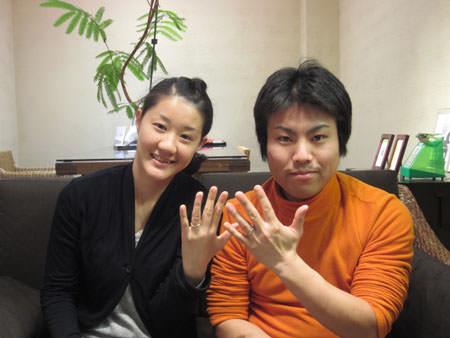 120124木目金の結婚指輪_心斎橋店001.JPG