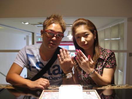 11091801木目金の結婚指輪01.JPG