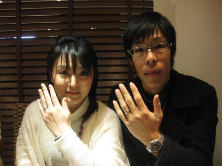 12022101木目金の結婚指輪 銀座店001.JPG