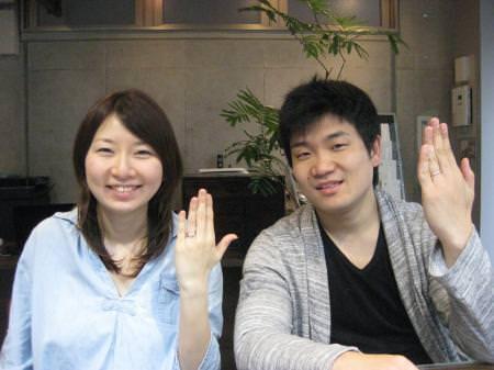 12033101木目金の結婚指輪横浜元町店001.JPG