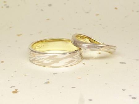 120331木目金の結婚指輪_表参道002