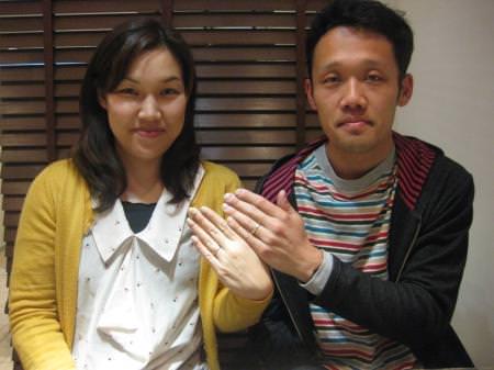 120422木目金の結婚指輪_銀座店001.JPG